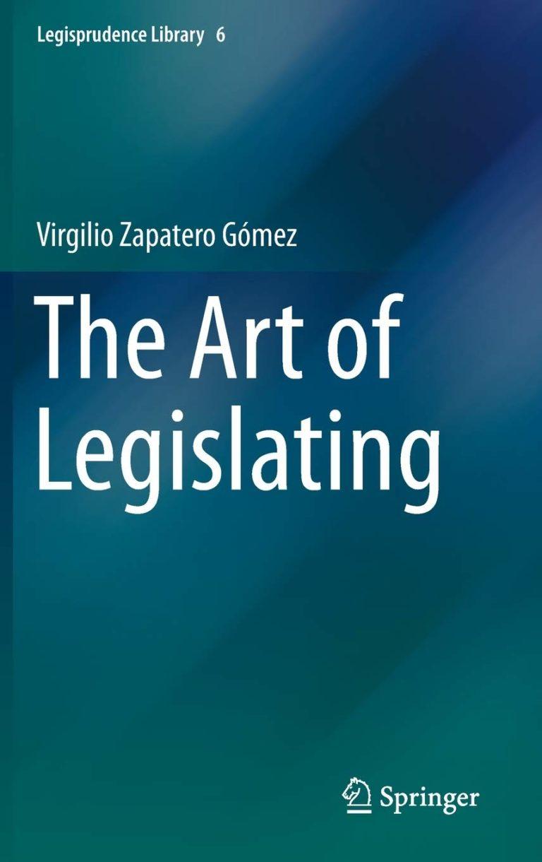 THE ART OF LEGISLATING